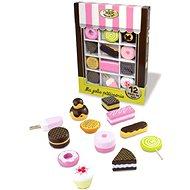 Set dřevěných sladkostí