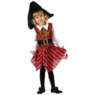 Šaty na karneval - Pirátka veľ. XS