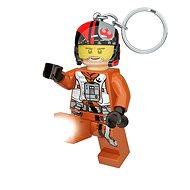 Lego Star Wars Figurine glänzend Poe Dameron - Schlüsselring