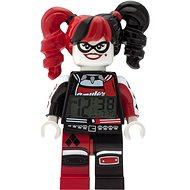 LEGO Batman Movie Harley Quinn hodiny s budíkem - Hodiny do dětského pokoje