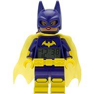 LEGO Batman Movie Batgirl hodiny s budíkem - Hodiny do dětského pokoje