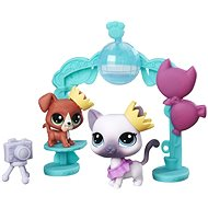 Littlest Pet Shop School ball with 2 animals