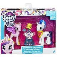My Little Pony Set 2 poníkov s doplnkami Princess Candance and Shining Armor