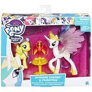 My Little Pony Set 2 poníků s doplňky Princess Celestia and Fluttershy - Herní set