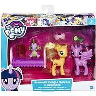 My Little Pony Pony Set 2 Zubehör mit Twilight Sparkle und Applejack - Spielset