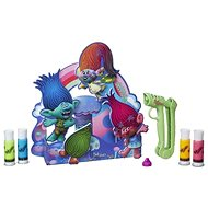 Play-Doh DohVinci Trolls organizer on the table - Creative Kit