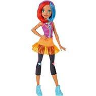 Mattel Barbie Ve světě her – fialovo-oranžová spoluhráčka