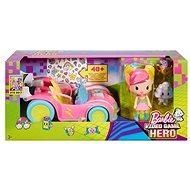 """Mattel Barbie """"Die Videospiel-Heldin"""" Pixel-Mobil Set mit Puppe - Puppe"""