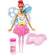 Mattel Barbie Bublinková víla tmavě růžová