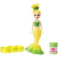Mattel Barbie Dreamtopia Junior Meerjungfrau Seifenblasen-Set - Gelb - Puppe