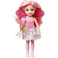 Mattel Barbie víla Chelsea světle růžová