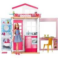 Mattel Barbie 2 Etagen Ferienhaus & Puppe - Puppe