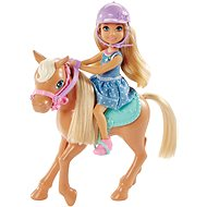 Mattel Barbie and Pony Chelsea