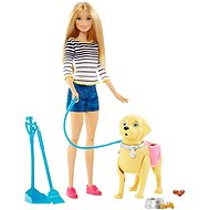 Mattel Barbie Walk with dog