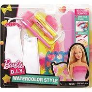 Mattel Barbie DIY Akvarelové bielo-ružové návrhárstvo