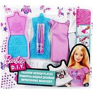 Mattel Barbie DIY feucht weiß und lila Design - Puppe