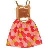 Mattel Barbie šaty – zlaté - Puppe