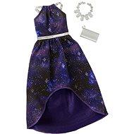 Mattel Barbie Šaty s doplnkami - modro-fialové