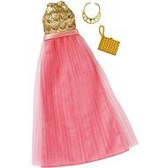 Mattel Barbie Šaty s doplňky – světle krémové