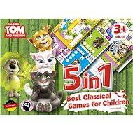 Talking Tom a přátelé - 5v1: Nejlepší klasické hry pro děti - Společenská hra
