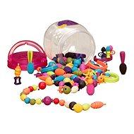 B-Spielzeug Verbindungs Perlen und Formen Arty Pop 150 Einheiten - Kreativset