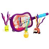 B-Toys Podběrák s hračkami potápění Hroch Hubba - Hračka do vody