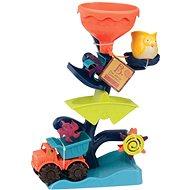 B-Toys Vodní mlýnek s náklaďákem - Sada na písek
