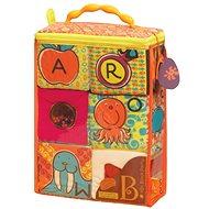 B-Toys Textilní kostky ABC Block Party - Hračka pro nejmenší