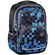 Hama All Out Blazing Blue Pixel - School Bag