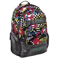CoCaZoo CarryLarry 2 Checkered Bolts - School Bag