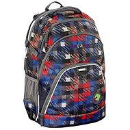 CoCaZoo EvverClevver Dope Square Red - School Bag