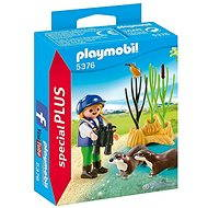 Playmobil 5376 Defender with Otters - Figures