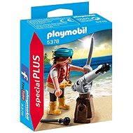 Playmobil 5378 Pirát s kanónem - Figurky