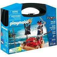 Playmobil 5655 Portable Box - Pirate on the raft - Building Kit