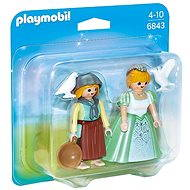 PLAYMOBIL® 6843 Duo Pack Prinzessin mit Zofe - Figuren