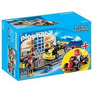PLAYMOBIL® 6869 StarterSet Gokart-Werkstatt - Baukasten