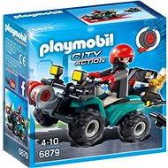 Playmobil 6879 Čtyřkolka s navijákem - Stavebnice