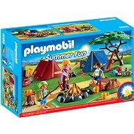 Playmobil 6888 Camp Site with LED Fire