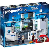 PLAYMOBIL® 6919 Polizei-Kommandozentrale mit Gefängnis - Baukasten