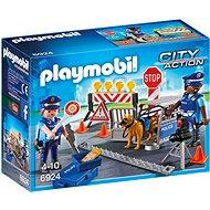 PLAYMOBIL® 6924 Polizeisperre - Baukasten