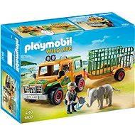 Playmobil 6937 Auto strážcov zvierat s prívesom