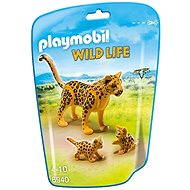 Playmobil 6940 Leopard with chicks - Figures