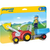 PLAYMOBIL® 6964 Traktor mit Anhänger - Spielzeug für die Kleinsten
