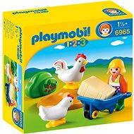 PLAYMOBIL® 6965 Farmer mit Hühnern - Spielzeug für die Kleinsten
