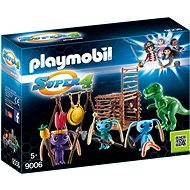 Playmobil 9006 Alien Fighters with T-Rex Traps - Building Kit