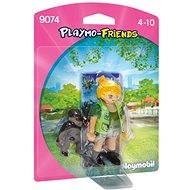Playmobil 9074 PLM-Friends A nurse with a gorilla chick - Figures