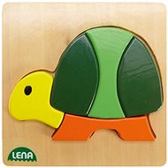 Lena Dřevěné puzzle - želva