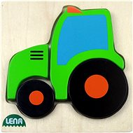 Lena Wooden puzzle - tractor - Puzzle