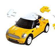 3D Puzzle auto - MiniCooper žluté - Hlavolam
