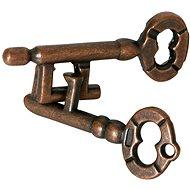 Nerozlučné kľúče hlavolam kov